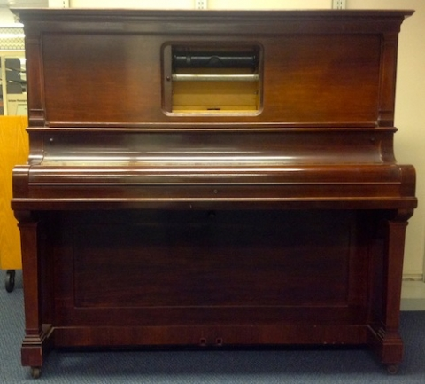 The Steinway Red Welte Reproducing Piano (1922) finds a new home in the Archive of Recorded Sound.