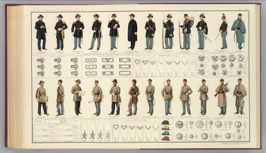 [Uniforms, officers and enlisted men]