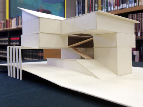 Architecture Design Models models from the architectural design program | stanford libraries