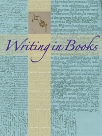 Writing in Books exhibit poster