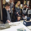Artists' books class visit - Photo by: Ala Ebtekar, used with permission.
