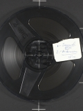 Open tape reel from Gerhard Samuel Collection, ARS.0049