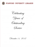 2012 SUL Anniversary Program Cover