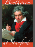 Portrait of Beethoven composing the Missa Solemnis (1820)