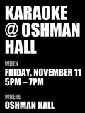 Karaoke at Oshman Hall