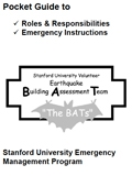 Building Assessment Team (BAT) pocket guide image