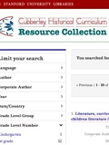 cubberley historical curriculum