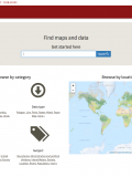 EarthWorks - Discovery tool for geospatial data