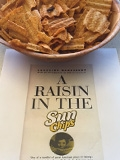 Raisin in the Sun(ships), Edible Book Festival entry by Suzette Caneda.