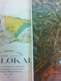 Snippets of Molokai and Yellowstone National Park Maps