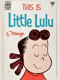 This is Little Lulu by Marge book cover