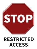 restricted access image