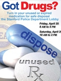 Drug disposal flyer