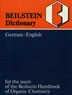 Beilstein dictionary