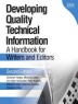 Developing quality technical information : a handbook for writers and editors