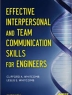 Effective interpersonal and team communication skills for engineers