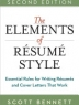 Elements of Resume Style