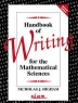 Handbook of writing for the mathematical sciences