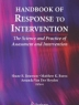 Cover image of Handbook of response to intervention