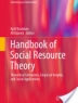 Cover image of Handbook of social resource theory