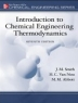 Introduction to chemical engineering thermodynamics.