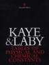Kaye and Laby Tables of Physical and Chemical Constants