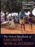 Cover image of The Oxford handbook of children's musical cultures