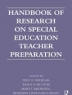 Cover image of Handbook of research on special education teacher preparation