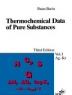 Thermochemical Data of Pure Substances