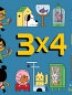 Cover image of Three times four with Annemarie : a TOON book