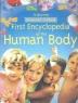 Cover image of Usborne first encyclopedia of the human body