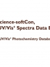 Spectra data base : (UV/Vis+ photochemistry data base)