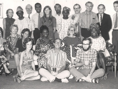 Alumni group, undated