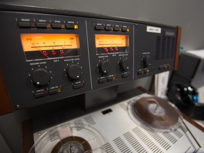 We have 1000s of audio reels (music, poetry, interviews, etc.) to preserve.