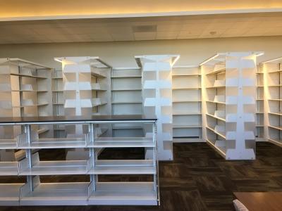 Shelving on 3rd floor