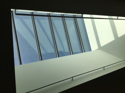 Skylight on 4th floor