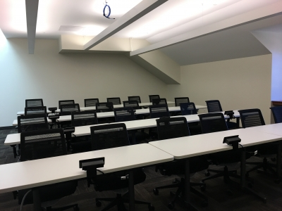 Training room on 4th floor
