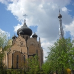 Church of the Holy Spirit in Bia?ystok, Poland, an Orthodox church in a majority-Catholic country