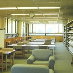 Main study area of Falconer Biology Library