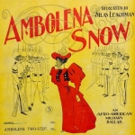 Ambolina Snow, by Bodine and Maywood. London: Wickens & Co., 1896