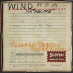 Tape container for Wind (1961)