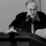 Yevtushenko reading at the Library of Congress, 2004
