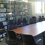 Large instruction room in Cubberley Library