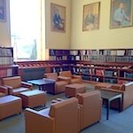 Study area in the Education Library