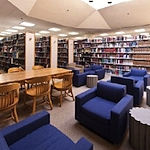 Third-floor study area, Law Library