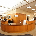 Law Library reference desk, first floor