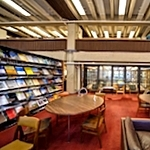 Periodicals reading area, Earth Sciences Library