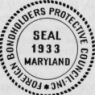 Seal of the United States Foreign Bondholders Protective Council (FBPC) on their annual reports.
