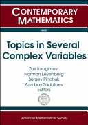 Topics in several complex variables