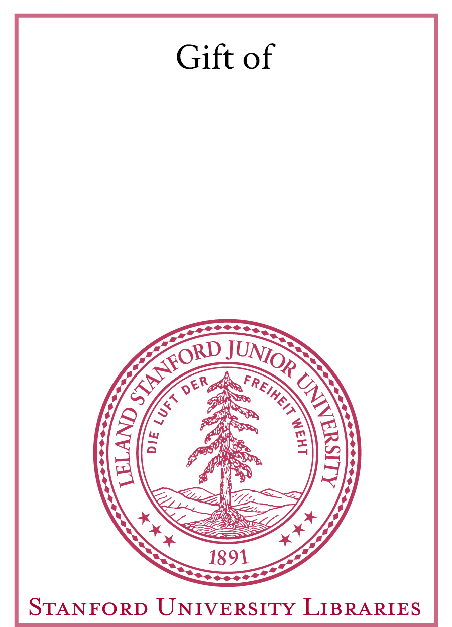 Stanford Bookplate